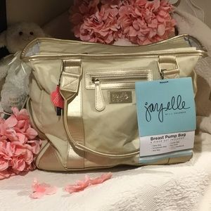 Jay Elle Childress Baby Diaper Breast Pump Bag NWT